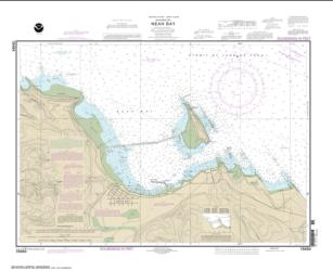 Buy map Neah Bay Nautical Chart (18484) by NOAA from Washington Maps Store