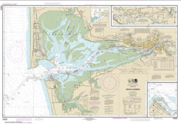 Buy map Grays Harbor; Westhaven Cove Nautical Chart (18502) by NOAA from Washington Maps Store