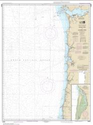 Buy map Yaquina Head to Columbia River; Netarts Bay Nautical Chart (18520) by NOAA from Washington Maps Store