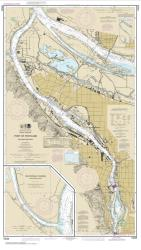 Buy map Port of Portland, Including Vancouver; Multnomah Channel-southern part Nautical Chart (18526) by NOAA from Oregon Maps Store
