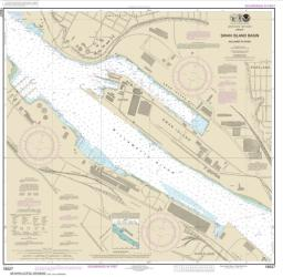 Buy map Willamette River-Swan Island Basin Nautical Chart (18527) by NOAA from Oregon Maps Store