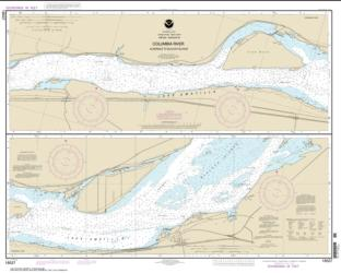 Buy map Columbia River Alderdale to Blalock Islands Nautical Chart (18537) by NOAA from Oregon Maps Store
