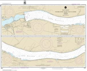 Buy map Columbia River-McNary Dam to Juniper Nautical Chart (18541) by NOAA from Oregon Maps Store