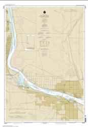 Buy map Columbia River Pasco to Richland Nautical Chart (18543) by NOAA from Oregon Maps Store