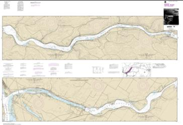 Buy map Lake Sacajawea Nautical Chart (18545) by NOAA from Washington Maps Store