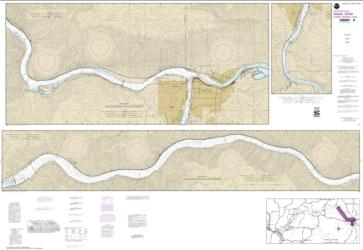 Buy map Snake River-Lower Granite Lake FRANKLIN D. ROOSEVELT LAKE Nautical Chart (18548) by NOAA from Washington Maps Store