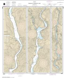 Buy map FRANKLIN D. ROOSEVELT LAKE Northern part Nautical Chart (18553) by NOAA from Washington Maps Store