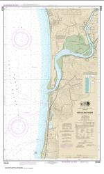 Buy map Nehalem River Nautical Chart (18556) by NOAA from Oregon Maps Store