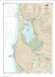 Buy map Tillamook Bay Nautical Chart (18558) by NOAA from Oregon Maps Store