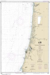 Buy map Cape Blanco to Yaquina Head Nautical Chart (18580) by NOAA from Oregon Maps Store