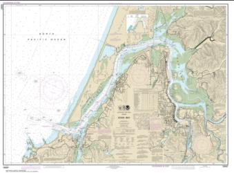 Buy map Coos Bay Nautical Chart (18587) by NOAA from Oregon Maps Store