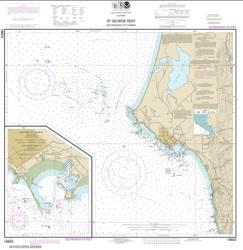 Buy map St. George Reef and Crescent City Harbor; Crescent City Harbor Nautical Chart (18603) by NOAA from Oregon Maps Store
