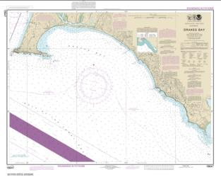 Buy map Drakes Bay Nautical Chart (18647) by NOAA from United States Maps Store