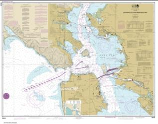 Buy map Entrance to San Francisco Bay Nautical Chart (18649) by NOAA from United States Maps Store