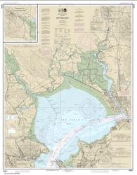 Buy map San Pablo Bay Nautical Chart (18654) by NOAA from United States Maps Store