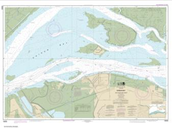 Buy map SUISUN BAY-Roe Island and vicinity Nautical Chart (18658) by NOAA from United States Maps Store