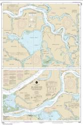 Buy map San Joaquin River Stockton Deep Water Channel Antioch to Medford Island Nautical Chart (18660) by NOAA from United States Maps Store