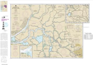 Buy map Sacramento and San Joaquin Rivers Old River, Middle River and San Joaquin River extension; Sherman Island Nautical Chart (18661) by NOAA from United States Maps Store