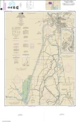 Buy map Sacramento River Andrus Island to Sacramento Nautical Chart (18662) by NOAA from United States Maps Store