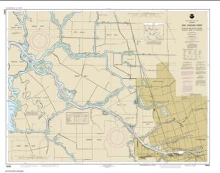 Buy map San Joaquin River Stockton Deep Water Channel Medford Island to Stockton Nautical Chart (18663) by NOAA from United States Maps Store