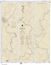 Buy map Sacramento River Fourmile Bend To Colusa Nautical Chart (18667) by NOAA from United States Maps Store