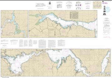 Buy map Lake Mead Nautical Chart (18687) by NOAA from United States Maps Store