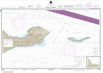 Buy map Anacapa Passage; Prisoners Harbor Nautical Chart (18729) by NOAA from United States Maps Store
