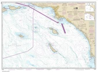 Buy map San Diego to Santa Rosa Island Nautical Chart (18740) by NOAA from United States Maps Store