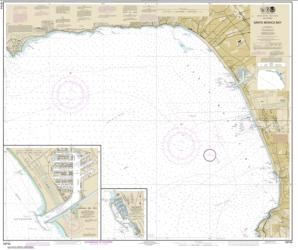 Buy map Santa Monica Bay; King Harbor Nautical Chart (18744) by NOAA from United States Maps Store