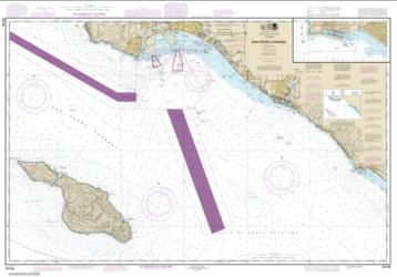 Buy map San Pedro Channel; Dana Point Harbor Nautical Chart (18746) by NOAA from United States Maps Store
