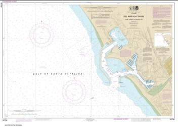 Buy map Del Mar Boat Basin Nautical Chart (18758) by NOAA from United States Maps Store