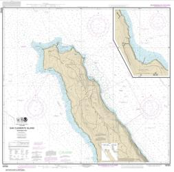 Buy map San Clemente lsland northern part; Wison Cove Nautical Chart (18763) by NOAA from United States Maps Store