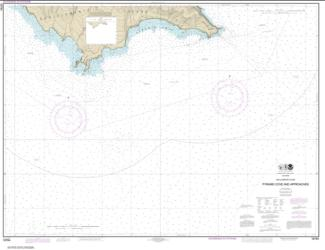 Buy map San Clemente Island Pyramid Cove and approaches Nautical Chart (18764) by NOAA from United States Maps Store