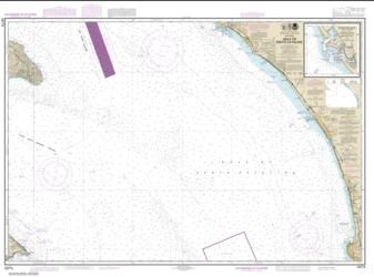 Buy map Gulf of Santa Catalina; Delmar Boat Basin-Camp Pendleton Nautical Chart (18774) by NOAA from United States Maps Store