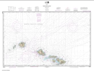 Buy map Hawai���ian Islands northern part Nautical Chart (19013) by NOAA from United States Maps Store