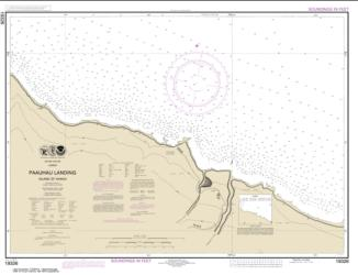 Buy map Pa���auhau Landing Island Of Hawai���i Nautical Chart (19326) by NOAA from United States Maps Store