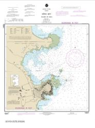 Buy map H?�na Bay Island of Maui Nautical Chart (19341) by NOAA from United States Maps Store