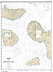 Buy map Channels between Molokai, Maui, Lana���i and Kaho���olawe; Manele Bay Nautical Chart (19347) by NOAA from Hawaii Maps Store