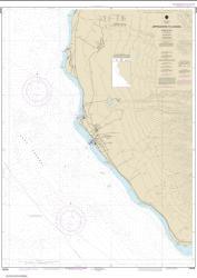 Buy map Approaches to Lahaina, Island of Maui Nautical Chart (19348) by NOAA from United States Maps Store