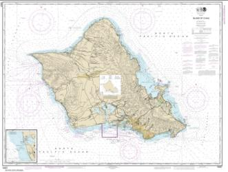Buy map Island of O���ahu; Barbers Point Harbor Nautical Chart (19357) by NOAA from United States Maps Store