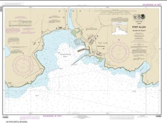 Buy map Port Allen Island of Kaua���i Nautical Chart (19382) by NOAA from United States Maps Store