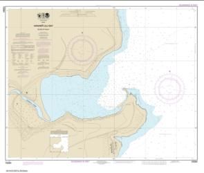 Buy map Hanamaulu Bay Island of Kaua���i Nautical Chart (19384) by NOAA from United States Maps Store