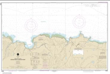 Buy map North Coast of Kaua���i Ha���ena Point to Kepuhi Point Nautical Chart (19385) by NOAA from United States Maps Store