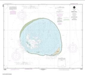Buy map Hawai���i Kure Atoll Nautical Chart (19483) by NOAA from United States Maps Store