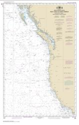 Buy map North Pacific Ocean West Coast Of North America  Mexican Border To Dixon Entrance Nautical Chart (501) by NOAA from United States Maps Store
