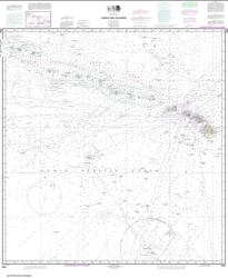 Buy map Hawai���ian Islands Nautical Chart (540) by NOAA from United States Maps Store