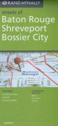 Buy map Baton Rogue, Shreveport and Bossier City by Rand McNally from Louisiana Maps Store
