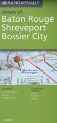 Buy map Baton Rogue, Shreveport and Bossier City by Rand McNally from Louisiana Maps Store