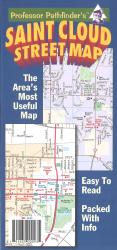Buy map St. Cloud, Minnesota by Hedberg Maps from Minnesota Maps Store