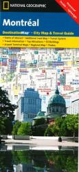 Buy map Montreal, Quebec DestinationMap by National Geographic Maps